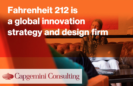 Capgemini Acquires Innovation and Design Consultancy Fahrenheit 212 to Drive Digital Innovation Offerings