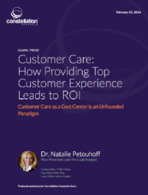 New Report: ROI Of Customer Service & Customer Experience