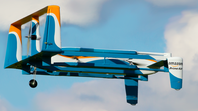 Innovation & Disruption In Delivery: Could Your Next Amazon Delivery Be By a Drone?