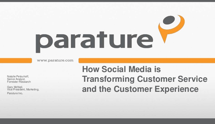 How Social Media is Transforming Customer Service and the Customer Experience