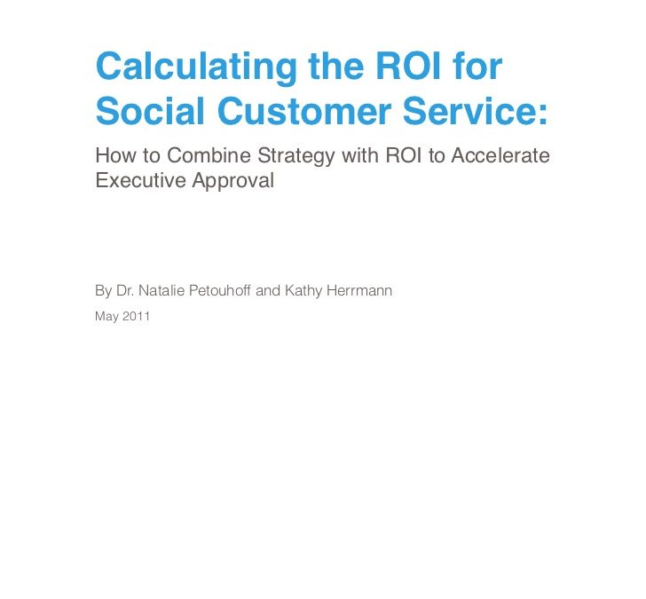 How to Calculate the ROI of Social Media