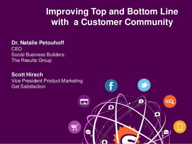 Learn how to Leverage Community for a Better Bottom Line