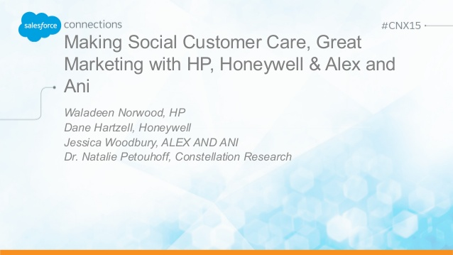 Making Social Customer Care, Great Marketing with HP, Honeywell, & ALEX AND ANI