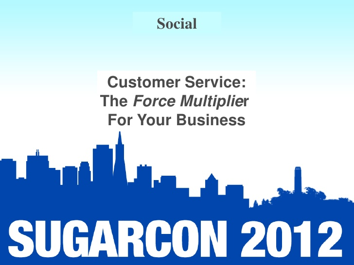 Social: Session 8: The Force Multiplier for Your Business