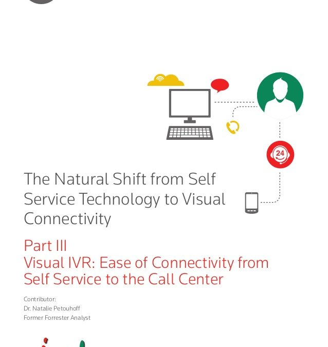 Visual IVR delivers on the promise of self-service & call center connectivity (Evolution of Self-Service – Part 3)
